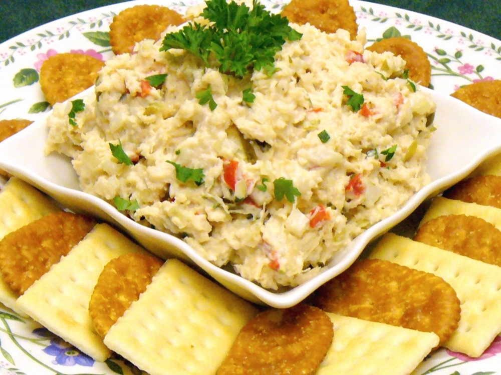 Chicken Salad Spread is the perfect appetizer for your next party or family gathering.