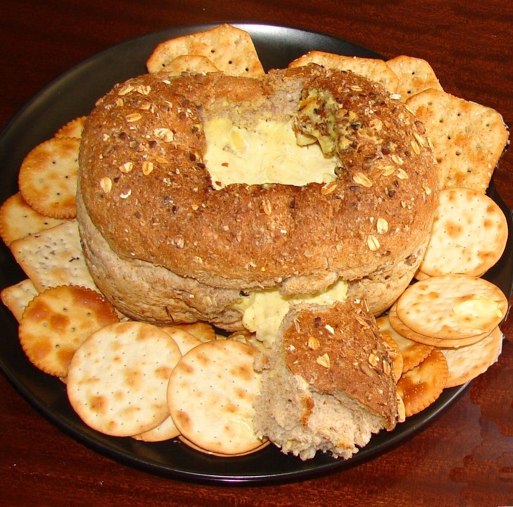 Cob Loaf Spinach Dip is a luscious, melted cheese dip baked in its own bread bowl. Great for parties.