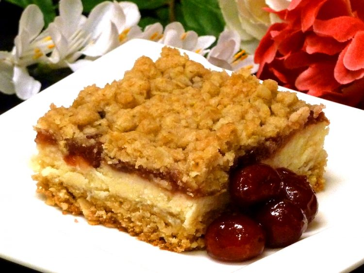 Cranberry Cheesecake Bars are the perfect dessert for a crowd. Good year-round and delicious at room temperature.