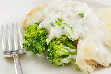 Chicken Divan is a fabulous classic recipe with a delicious sherry cream sauce. Fast and easy use for leftover chicken.