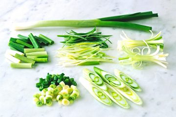 What are scallions? Find the answer here.