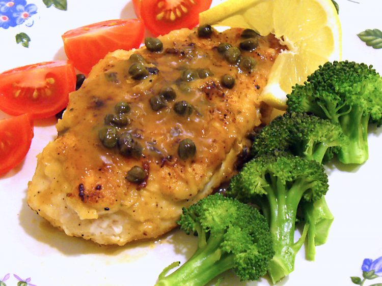 Easy Chicken Piccata goes together in 15 minutes, yet is loaded with authentic flavor.