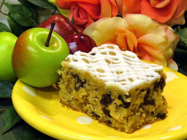 Fresh apple cake is lusciously delicious. It is quick, easy, and perfect for parties.