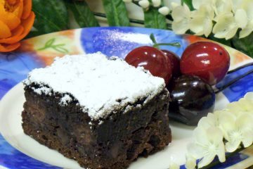 Black Forest Buttermilk Cake is rich with the flavors of chocolate and cherries. Easy to make.